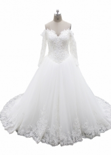 Luxury beadings hot sale 2017 Bridal Gowns