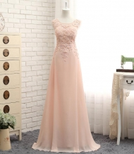 Wholesale Sheath Column Lace Beaded Chiffon Colored Cheap Colorful Bridemaid Dresses...
