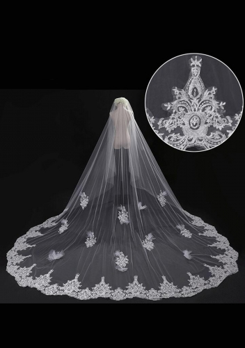 Cathedral Length Veil style 18