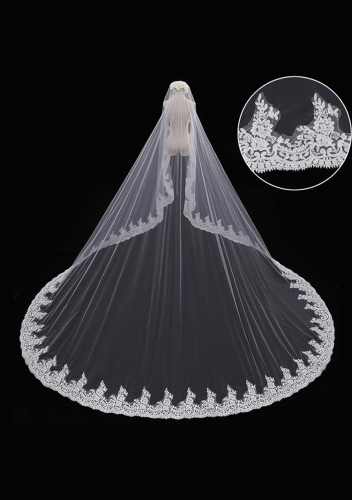 2017 Cathedral Length Veil style 14