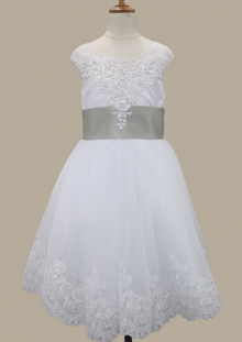 Hot sale flower girl dress 2017