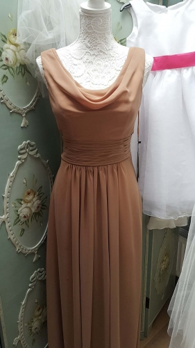 Coffe Brown Color Bridemaid Dress 2017