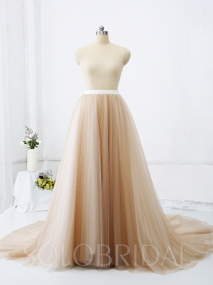 Brown Tulle Skirt Custom Made Size and Colors Accepted 724A9146s