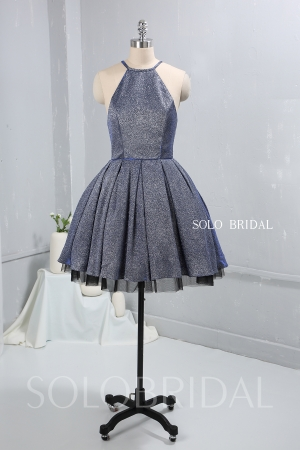 Shiny short proom dress tutu skirt 724A9211a