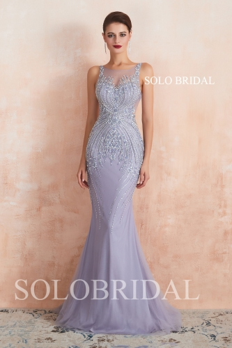 Lilic tulle fit and flare wedding dress N613551