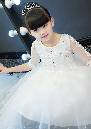 2018 Spring New Design Flower Girl Dress